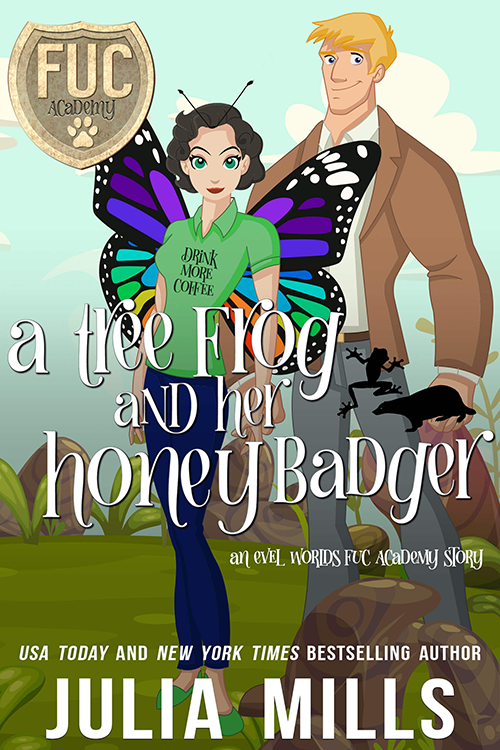 Book Cover: A Tree Frog and Her Honey Badger